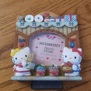 Hello Kitty ceramic photo frame
